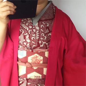 羽織コーデ